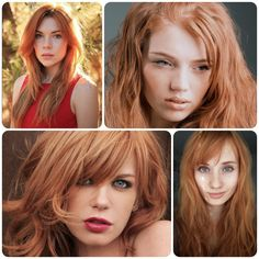 strawberry blond Formula: (on starting level 7) Roots:Goldwell Topchic 2 parts 8BKP + 1 part 8KN + 1 part 7PK with 20 Volume Ends: Goldwell Topchic 1 part 8BKP + 2 Parts 8KN + 1 Part 7PK with 30 Volume The ratios provided factor in natural contributing pigment at a level 7, for darker levels, add more 8BKP. For lighter levels, use less.