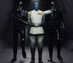 art by #mandaloking #starwars #admiralthrawn #thrawn #deathtrooper #deathtroopers #imperialtrooper #grandadmiralthrawn #chiss… Star Wars Characters, Star Wars Episodes, Grande Almirante Thrawn, Thrawn Star Wars, Edge Of The Empire, Star Wars Painting, Grand Admiral Thrawn, Star Wars The Old, Star Wars Facts