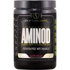 Purus Labs AminOD Jolly Watermelon 30 svg | Regular Price: $59.95, Sale Price: $34.99 | OvernightSupplements.com | #onSale #supplements #specials #PurusLabs #IntraWorkout  | Lactose and Dye Free Essential Amino Acid Repletion Drink Pre Intra Post MPS Enhancer More Effective than Protein Less Expensive than Protein Less Calories than Protein 36 AminoBlast L Leucine 14 L Phenylalanine 12 L Lysine 10 L Valine 10 L Threonine 8 5 L Isoleucine 8 5 L Histidine Substantiated EffectsT