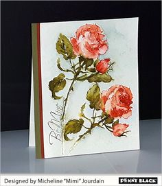 Rose Romance with Mimi | The Penny Black Blog