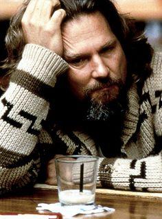 Jeff Bridges//The Dude with his white russian - The Big Lebowski Jeff Bridges, The Big Lebowski, O Grande Lebowski, El Gran Lebowski, Love Movie, Movie Stars, Movie Tv, Movie Cast, Movie Scene