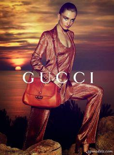 Photo Profile Portrait of Genevieve Gustilo Jallorina Solis re INDAY Vivian J. Solis - Andreea Diaconu & Adrien Sahores for Gucci Cruise 2014