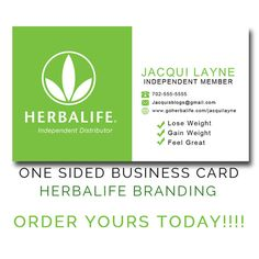 Herbalife Green And