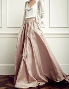 Jenny Packham, make this skirt a bit more flowy and this is my PERFECT WEDDING DRESS/SKIRT-TANK-SWEATER!!!!!
