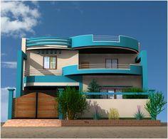 desain rumah minimalis 2 lantai modern lensa rumah