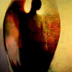 "Saatchi+Online+Artist+Steven+DaLuz;+Painting,+""Sentinel""+#art"