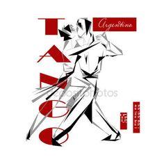 Appassionato tango argentino — Vettoriali  Stock © YulianaS #88339530