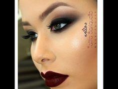 efaf532cf2e20 Maquiagem Esfumado chanfrado. Stunning MakeupRed ...