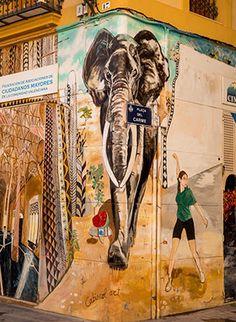 Doen in Valencia: street art