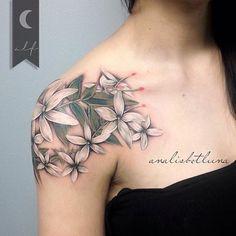 1000 ideas about Jasmine Flower Tattoos on Pinterest | Flower tattoos ...