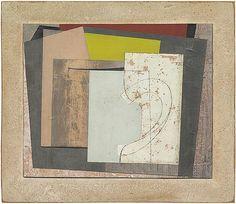 Ben Nicholson - Still life, 1946 - Paper Collage Art, Painting Collage, Painting & Drawing, Paintings, Murals Street Art, Painting Inspiration, Color Inspiration, Geometric Art, Graphic Art