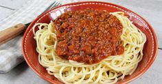 Easy Meal Prep Lunches, Easy Meals, Easy Pasta Recipes, Rice Recipes, Sauce Bolognaise, Beef Pasta, Egyptian Food, Bolognese Sauce, Spaghetti Sauce