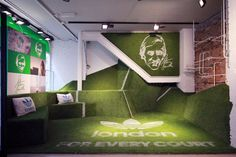 studio XAG transforms adidas' london flagship for stan smith campaign