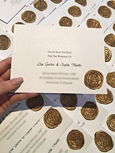 Wedding Party Embossed Save The Date invites Old Hollywood Glamour, Elegance Gatsby 1920s invitation.
