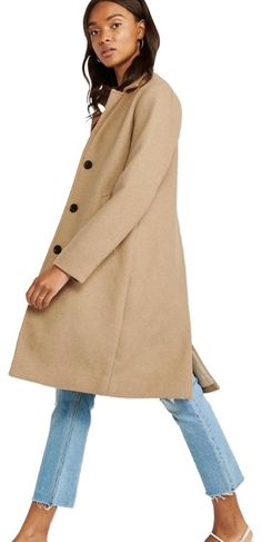 Our softest wool blend ever with a slimmed-out tailored fit and luxe satin fabric lining. Featuring button-front closure and big, functional pockets. Shearling Coat, Wool Coat, Coats For Women, Jackets For Women, Clothes For Women, Skort Dress, Vegan Leather Jacket, Spring Jackets, Fashion Outfits
