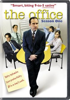 The Office: Season One - Just bought this the other day. When the magic began... (: