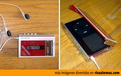 Funda retro Walkman iPod.