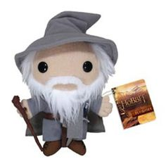 The Hobbit Gandalf Plushie http://popvinyl.net #funko #funkopop #popvinyls