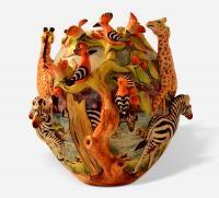 http://trawickandmartin.com/Trawick-Martin/Art-Gallery/African-Art/Mama-Africa-Vase.html African Vase
