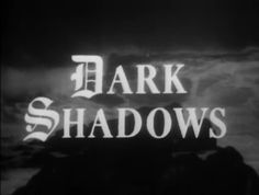 TV show 'Dark Shadows'. Gosh, this shows my age!!! Late 60's/early 70's. Came right home after school to watch it! Fun to laugh at...now!!