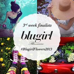 Congratulations to the third week finalists of our Instagram Photo Contest #BlugirlFlowers2013:  @Arianna, @clarissacastelletti, @zzzmoremore, @Marinafior.  Keep posting pictures to our Blugirl Instagram Page @blugirlofficial until next July 30th and stay tuned to our Instagram, Facebook and Pinterest pages to discover who next week's finalists will be.  Thank you all for submitting such beautiful images so far!