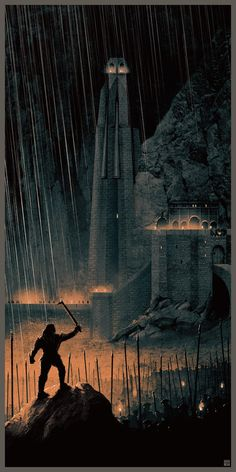 Beautiful tributes to THE LORD OF THE RINGS by...   Cinema Gorgeous