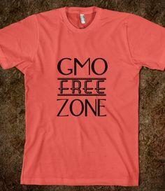 GMO free zone SS organic #skreened #gmo #tees