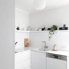 Es geht doch nichts über eine aufgeräumte Küche 💪 Mal sehen, wie lange es anhält 🙈