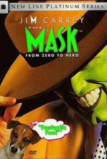 THE MASK.  Direcor: Chuck Russell.  Year: 1994.  Cast: Jim Carrey, Cameron Diaz, Peter Riegert, Peter Greene