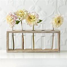 Bedside Tables Kmart Test Tube Vases- $5 | 23 Clever Kmart Hacks That'll Take Your Decor To ...