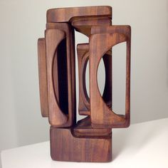 Untitled | Brian Willsher Wood Sculpture, Ca. 1980  | Christopher Coleman Collection > http://www.christophercolemancollection.com/art/