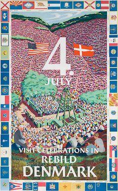 The 4th of July Celebration in Rebild, Denmark