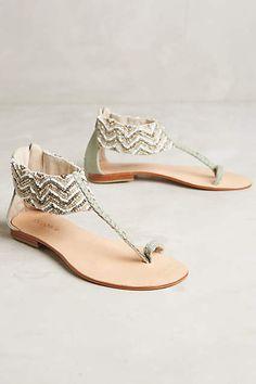 Cocobelle Coco Beadwork Sandals - anthropologie.com