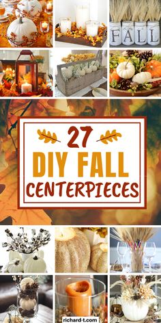 Dollar Tree Fall, Pin On, Fall Crafts, Holiday Crafts, Cd Crafts, Fall Halloween, Halloween Treats, Fall Decorations, Fall Table Centerpieces