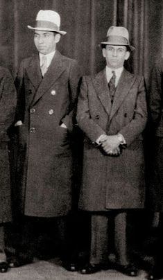 "Charles ""Lucky"" Luciano and Meyer Lanksy"