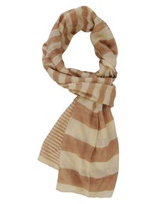 I bought this a few weeks ago, because it kind of reminded me of the Burberry look (obviously not, since it's striped!) and LOVE it. Perfect spring scarf!