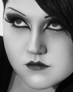 Mary Beth Patterson alias Beth Ditto [US singer-songwriter, singer of pop-rock band Gossip] Big And Beautiful, Beautiful People, Beautiful Women, Beth Ditto, Idole, Chubby Girl, Pop Rocks, Strike A Pose, Beauty Hacks