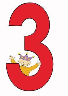 Jules 3 jaar Birthday Songs, Kids Birthday Cards, Happy Birthday, Happy B Day, Preschool, Symbols, Math, Projects, Deco