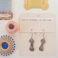 YARN  earrings by Atelier Braakmans Van van LarsiaBraakman op Etsy