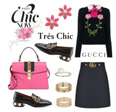 """Deftnitely Gucci"" by hastypudding ❤ liked on Polyvore featuring Gucci, Kate Spade, Miss Selfridge, contest, polyvorecommunity, fashionset, fashiondesigner and AmiciMei"