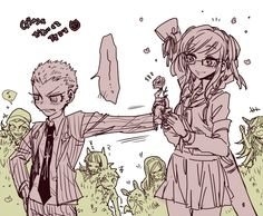 Kuzuru and peko