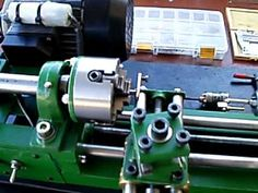 ▶ Home Made Lathe N.T - YouTube