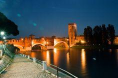 Tramonto a Castelvecchio, Verona - 2012 Foto di Alba Rigo