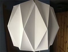 Love this lamp by Along Came the Fold!!  Really cool stuff made from Paper!!!!