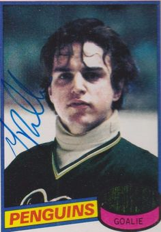 Greg Millen autographed #158 1111980 Topp's Penguins #PittsburghPenguins