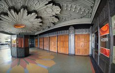 Wiltern Theater Entrance Panorama, Los Angeles, by Non Paratus, via Flickr
