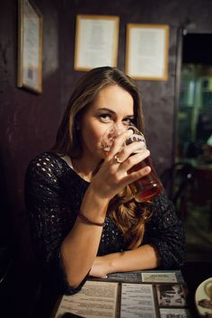 Bar by ulcore on Flickr.  #bar #moscow #beer #friends #girls
