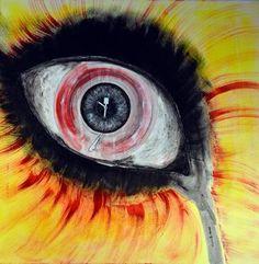 """Saatchi Art Artist Maga Smolik; Painting, """"I see the music"""" #art"""