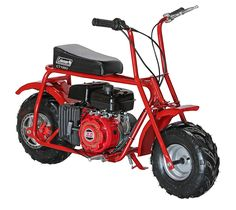 Coleman Powersports Mini Bike Trail Scooter for Adults & Kids Gas Powered, Red Dirt Bikes For Kids, Cool Dirt Bikes, Motos Vespa, Vespa Scooters, Motor Scooters, Mobility Scooters, Kids Motorcycle, Motorcycle Style, Mini Motorbike