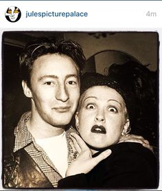 Jules picture palace Julian and Cindy Lauper